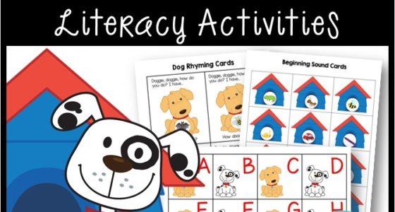 Pet Theme Literacy Activities