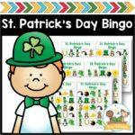Printable Bingo Game for St Patricks Day