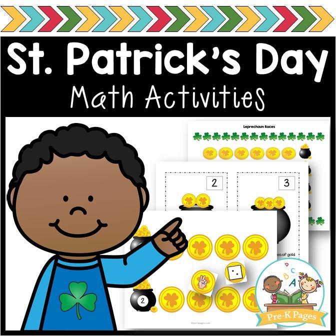 Math Activities for St. Patrick's Day in Preschool