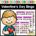 Printable Bingo Game for Valentines Day