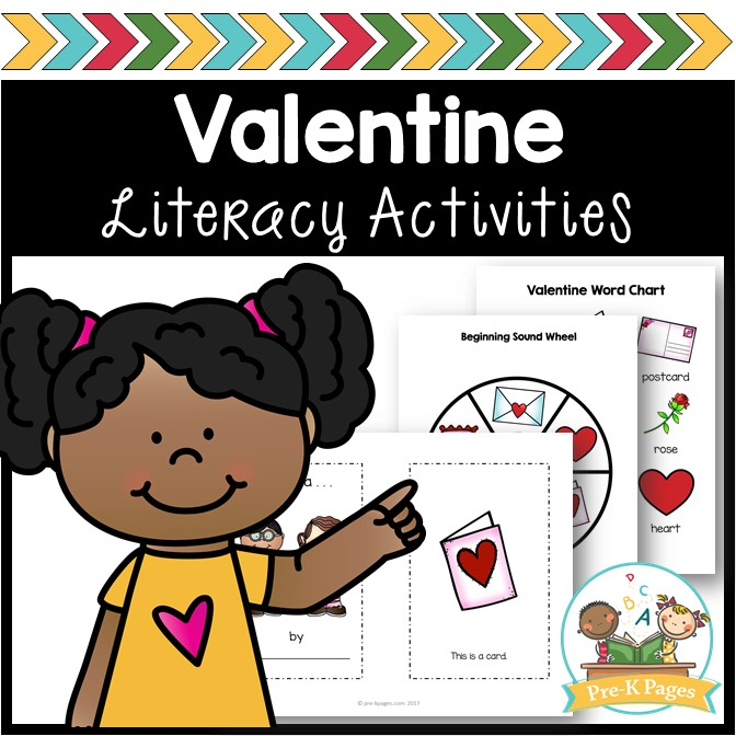 Valentine's Day Literacy Activities for Preschoolers