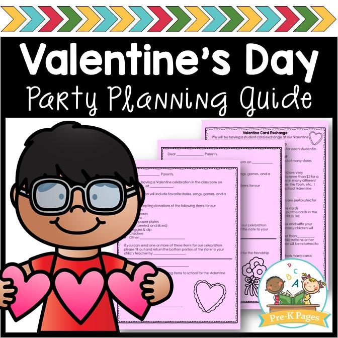 Preschool Valentine's Day Party Planner