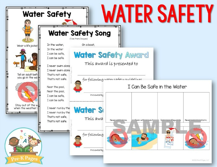 How to teach water safety to preschoolers
