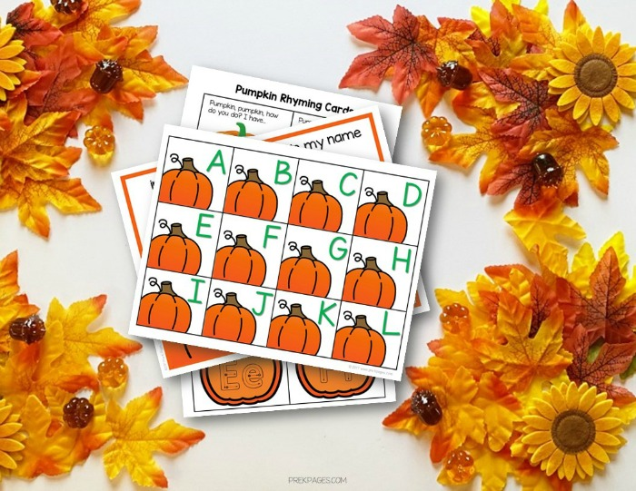 Fun Pumpkin Theme Literacy Activities for Preschool