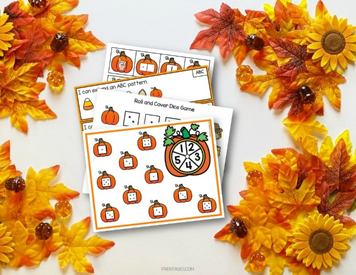 Fun Pumpkin Theme Math Activities for Preschool