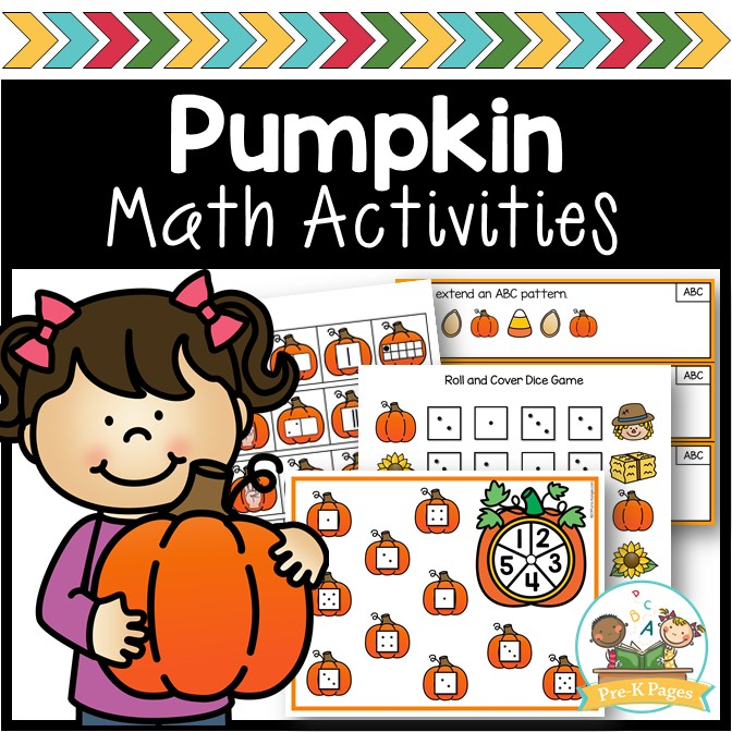Fun Pumpkin Theme Math Activities for Preschoolers