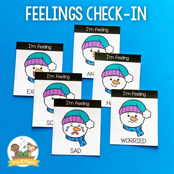 Feelings Chart Morning Routine