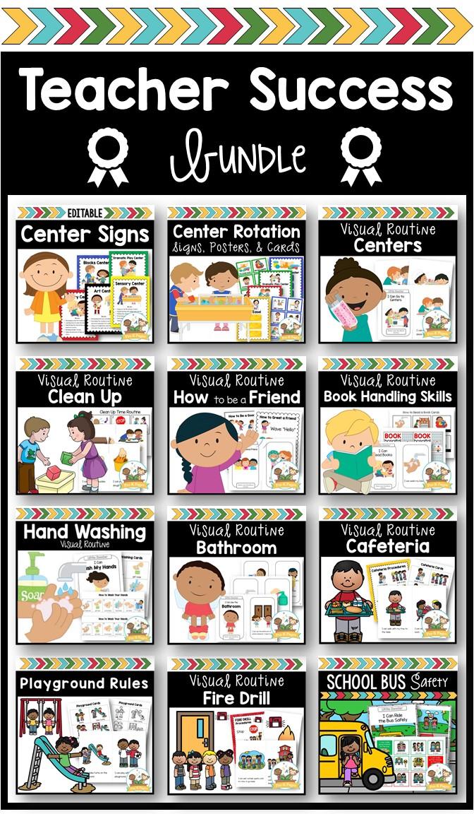 Preschool Teacher Success Bundle