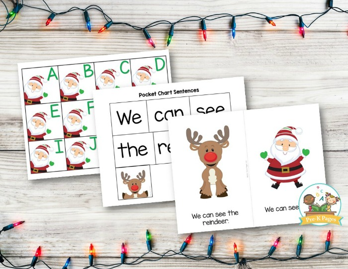 Christmas Theme Literacy Activities