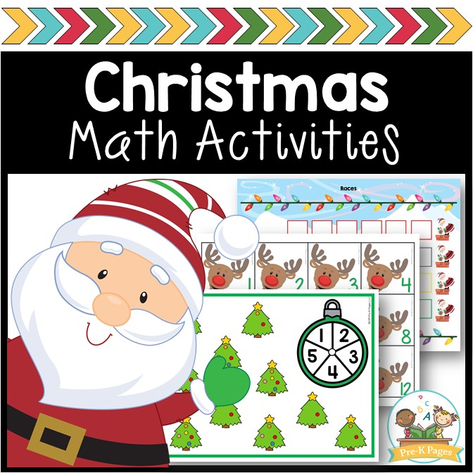 Christmas Theme Math Activities