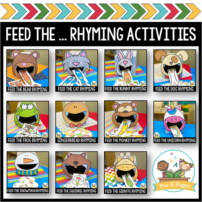 Rhyming Activity Bundle