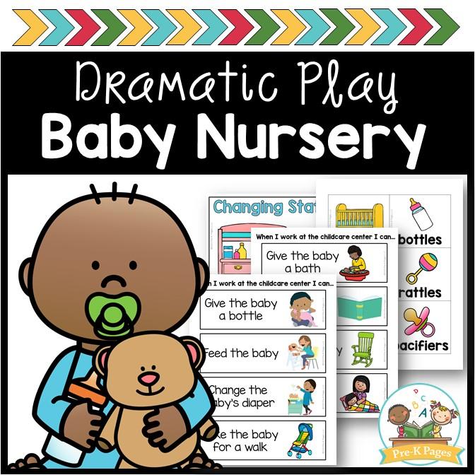 Dramatic Play Baby Nursery