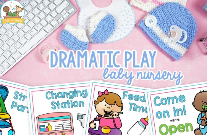 Dramatic Play Baby Theme