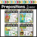 Prepositions Activity Bundle