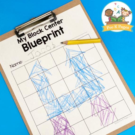 Block Center Blueprint