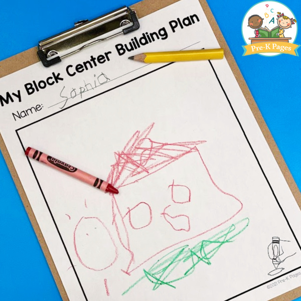Block Center Building Plan Printable