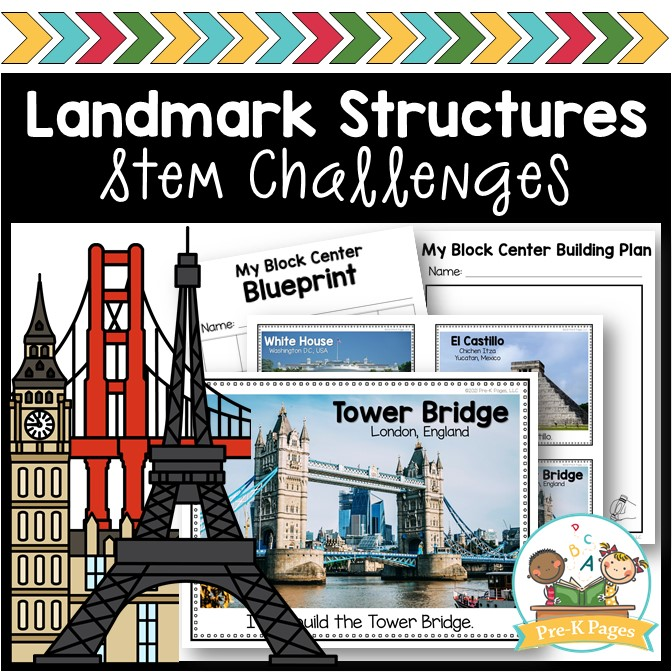 Landmark Building Stem Challenges
