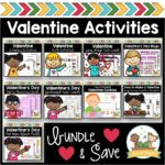 Valentine Activity Bundle for Preschool