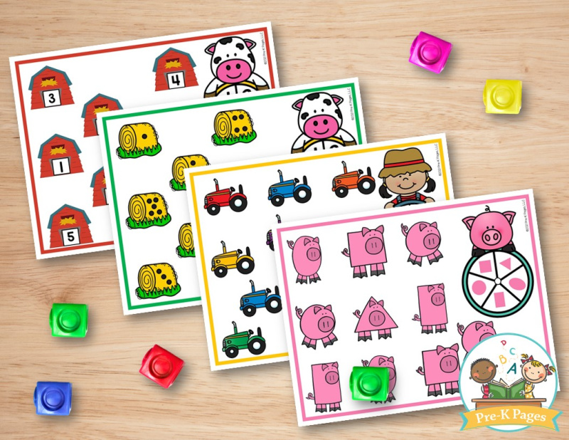 Farm Spin and Cover Games