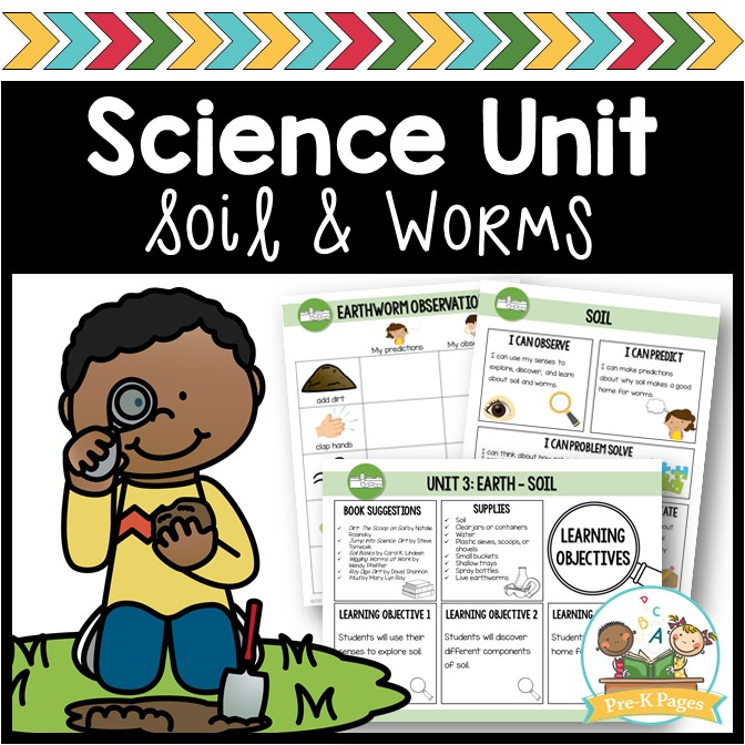 Science Unit Soil and Worms