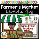 Farmers Market Dramatic Play Printable Props