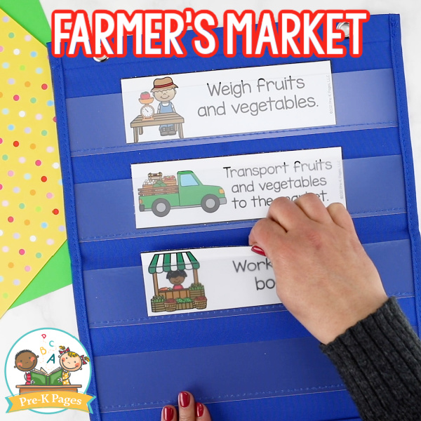 Farmers Market Dramatic Play