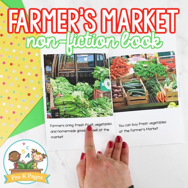 Farmers Market Non Fiction Book