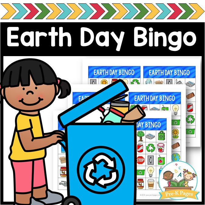 Earth Day Bingo Game