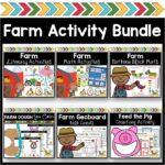 Farm Activities; Farm Theme; Farm Math; Farm Literacy; Farm Pattern Blocks; Farm Geoboards; Farm Play Dough