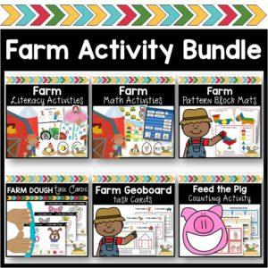 Farm Lesson Plan Bundle   Preschool and Pre-K