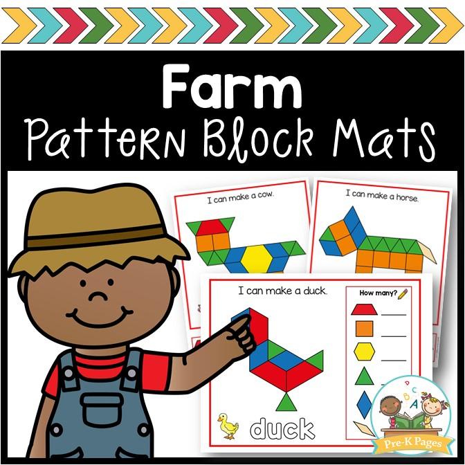 Farm Pattern Block Mats