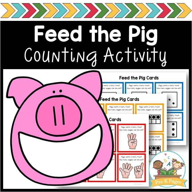 Feed the Pig Counting Game