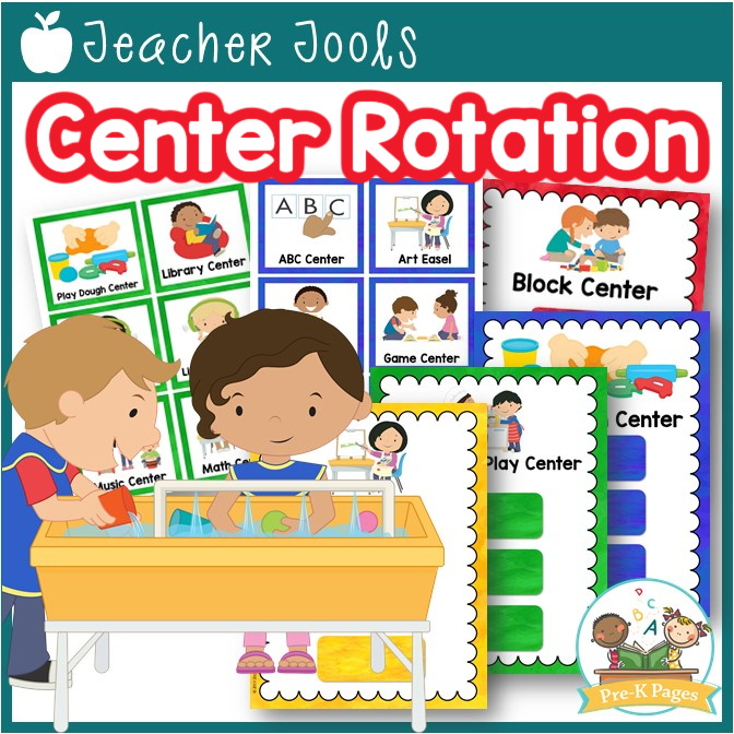 Center Rotation Charts for Preschool