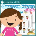 Classroom Helpers Job Chart