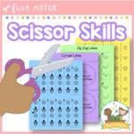 Scissor Skills Printables