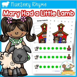 Mary Had a Little Lamb Literacy and Math