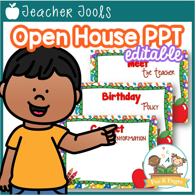 Preschool Open House Template