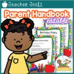 Parent Handbook for preschool