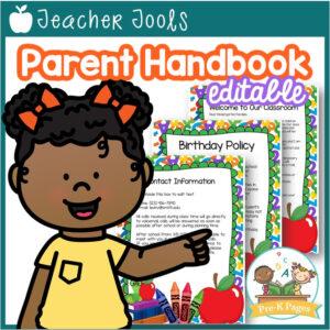 School Theme Parent Handbook
