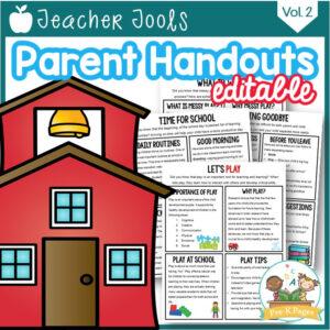 Parent Handouts vol 2