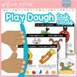 Play Dough Task Cards Volume 1
