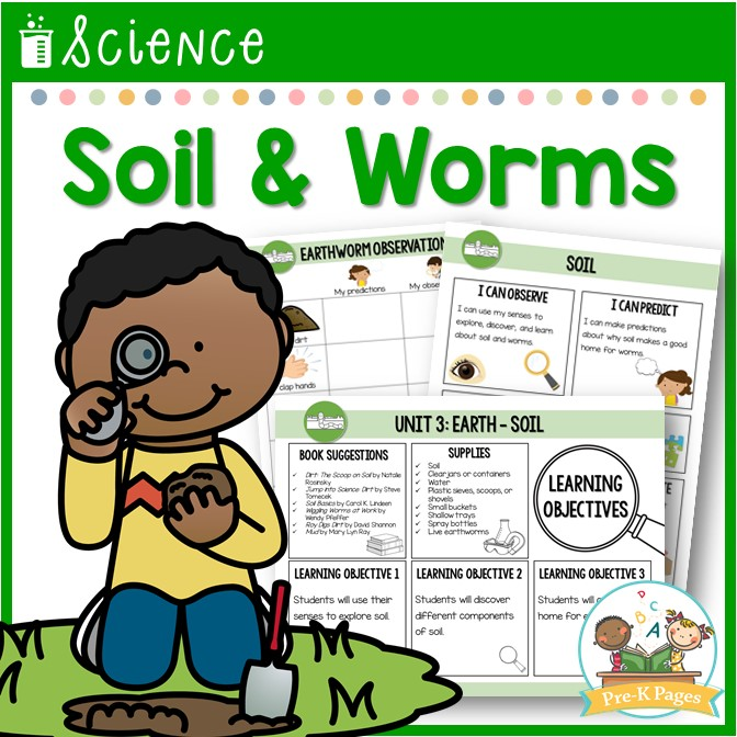 Preschool Science Lesson Soil