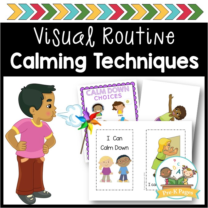 Calming Techniques Kit for Preschool and Pre-K