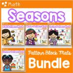 Pattern Block Mats Bundle Seasons