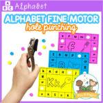 Alphabet Fine Motor Punch Cards