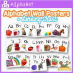 Alphabet Wall Posters with Real Photos by Pre-K Pages