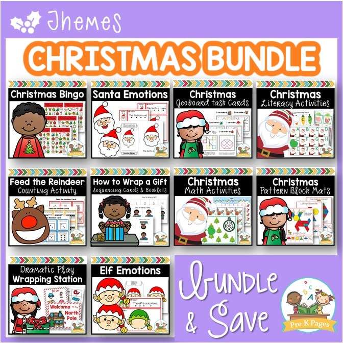 Preschool Christmas Activities