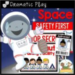 Space Theme Dramatic Play for Preschool by Pre-K Pages