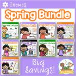 Spring Theme Activity Bundle for Preschool and Pre-K