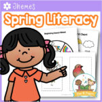 Spring Literacy Activities for Preschool and Pre-K